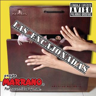 Portada Album Oficial Grupo Marrano - Las Encajonadas